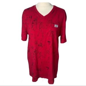 Rock Smith Shirts - Rock Smith Red Naked Women Shirt